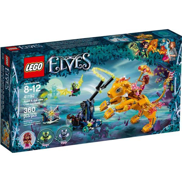 Lego Elves Azari & The Fire Lion Capture 41192
