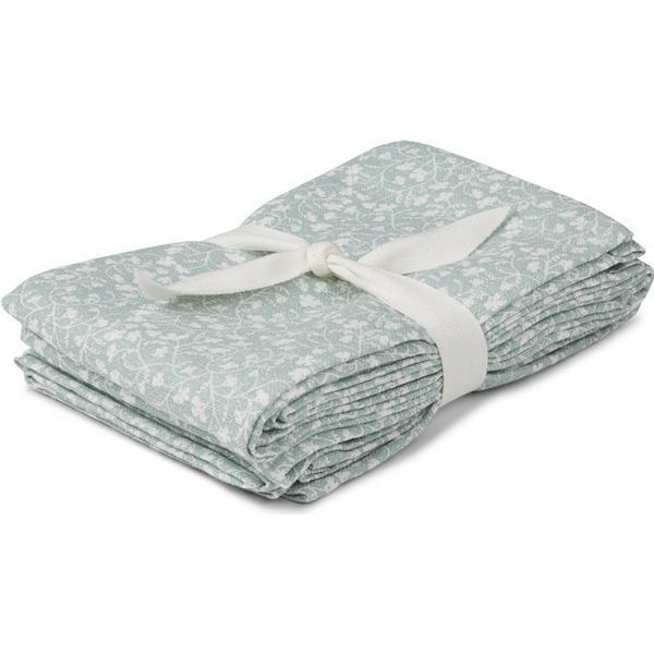 Liewood Hannah Muslin Cloth Dusty Mint 2-pack