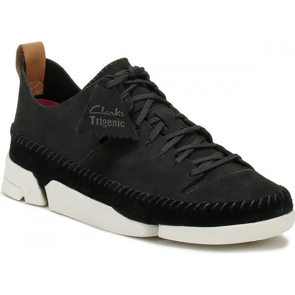 Clarks Womens Womens Clarks Black Trigenic Flex Shoes 70d8c7