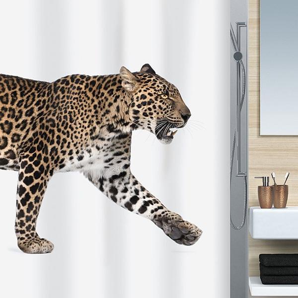 Spirella Badeforhæng Leopard