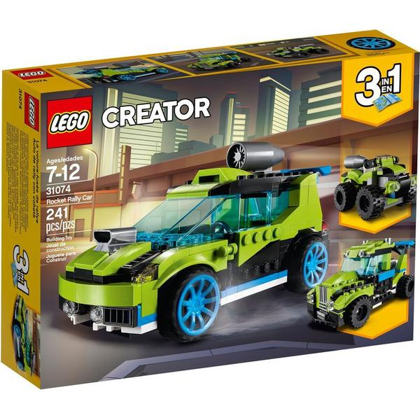 Lego Creator Raket Rallybil 31074