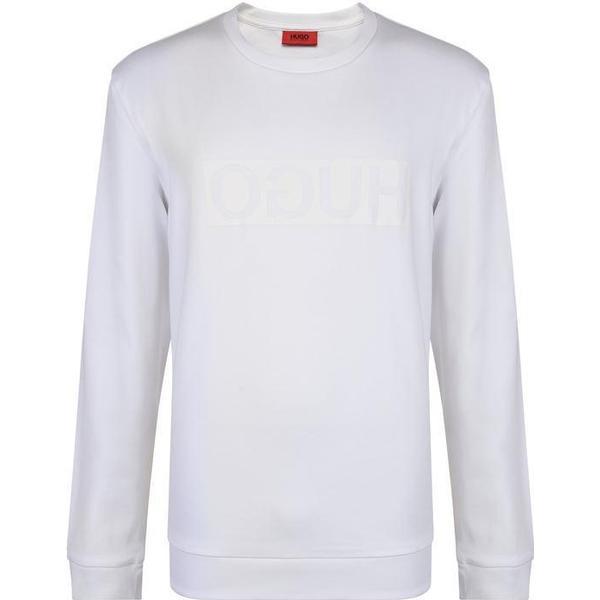 Hugo Boss Dicago Regular-Fit Interlock Cotton Sweatshirt Natural