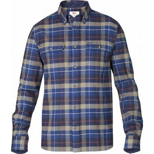 Fjällräven Singi Heavy Flannel Shirt Navy