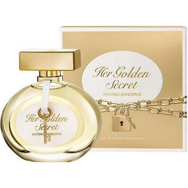 2e8610b5c Antonio Banderas Her Golden Secret for Women EdT 80ml - Compare ...