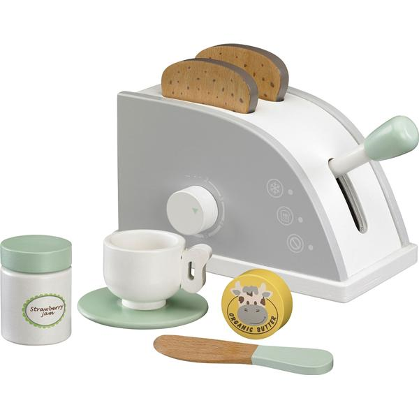 Kids Concept Star White Toaster Set
