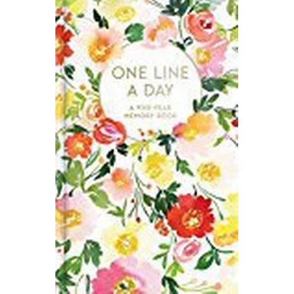 Floral One Line a Day: A Five-Year Memory Book (Övrigt format, 2018)