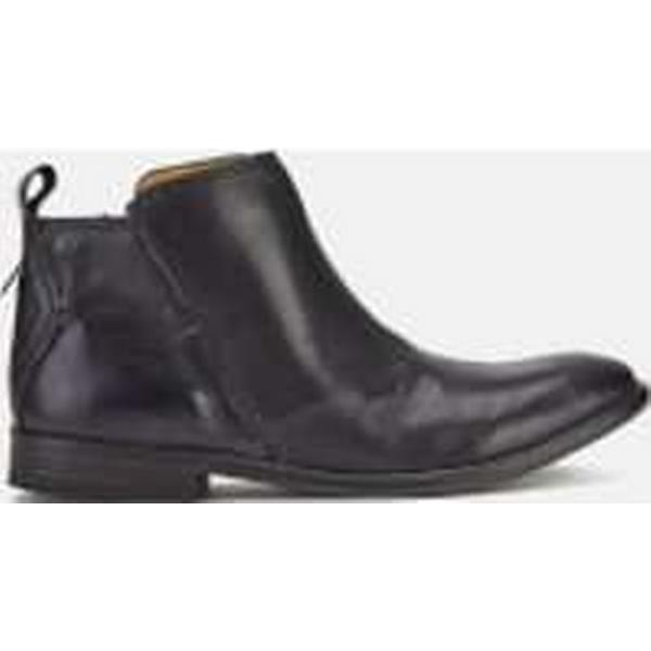 Hudson London Women's Revelin Black Leather Ankle Boots - Black Revelin f7eff8