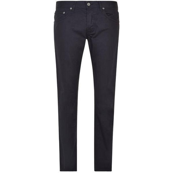 Stone Island Cotton Satin Slim Fit Jeans - Dark Grey V0065