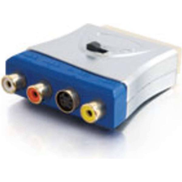 C2G SCART-3RCA/S-video Adapter