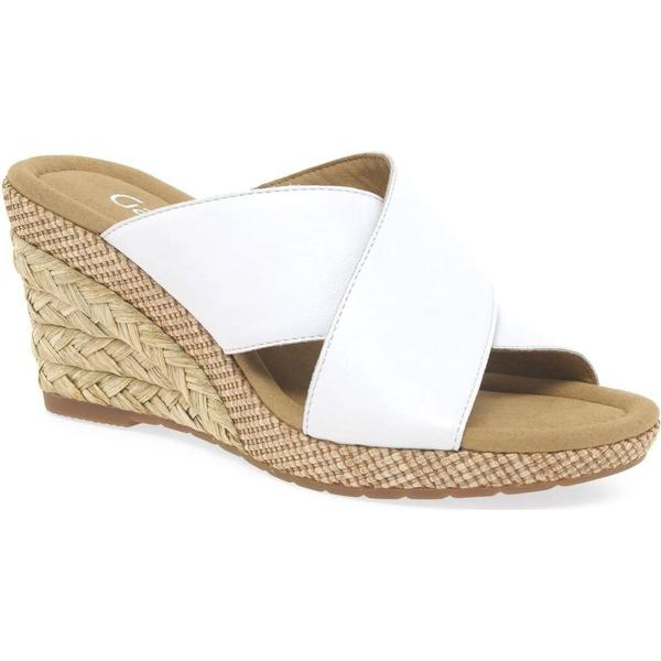 Gabor Purpose Womens Size: Modern Sandals Colour: White, Size: Womens 7.5 7aee24
