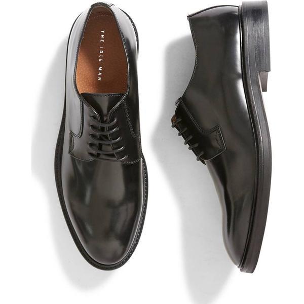 les les les chaussures en cuir noir (homme de derby 8ef75f