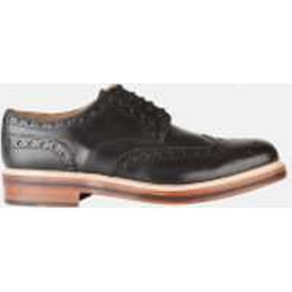 Grenson Men's - Archie Brogues - Black - Men's 8 - Black befe23