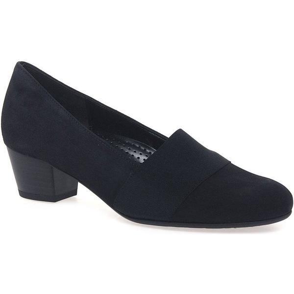 Gabor Sovereign Womens Court Shoes 2.5 Colour: Pacific Suede, Size: 2.5 Shoes 0e455a
