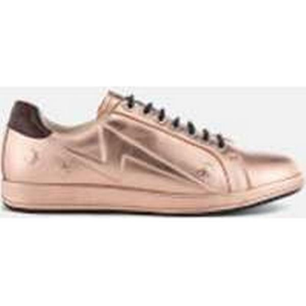 PS by Leather Paul Smith Women's Lapin Leather by Star Embossed Trainers - Copper Metallic - UK 5 - Gold bea2d9