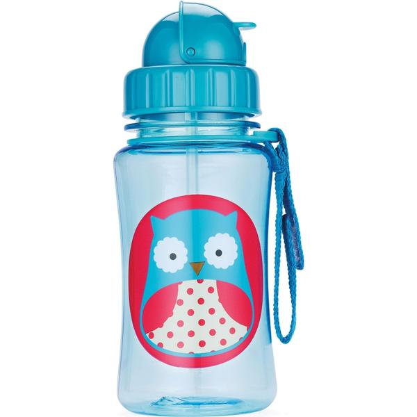 Skip Hop Zoo Straw Bottle Otis Owl