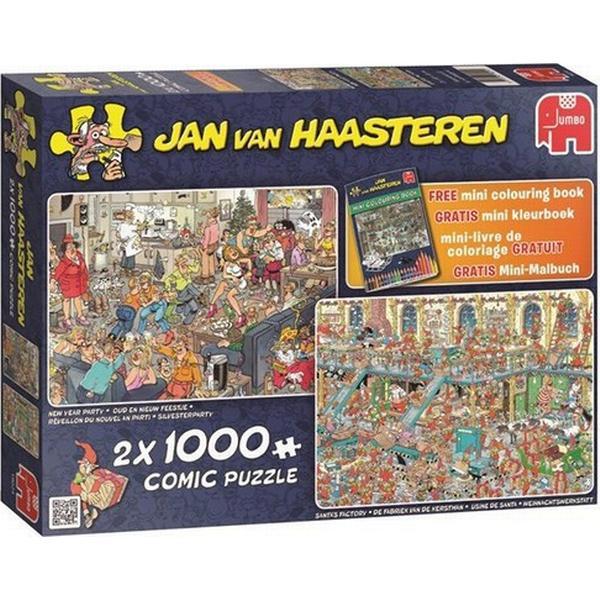 Jumbo Happy Holidays 2x 1000 Pieces