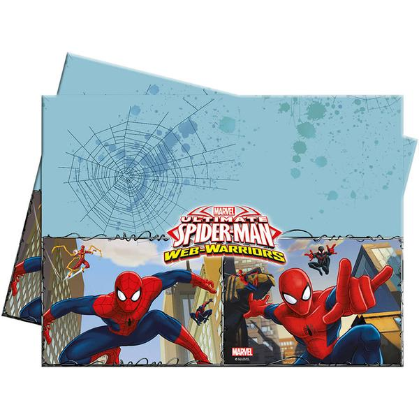 Table Cloth Spider Man Web Warriors Canvas
