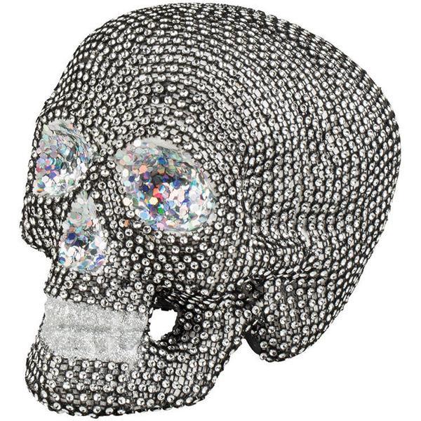 Skull Glitter Decoration
