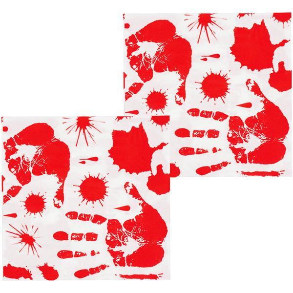 Unique Party Blood Handprints (5866N)