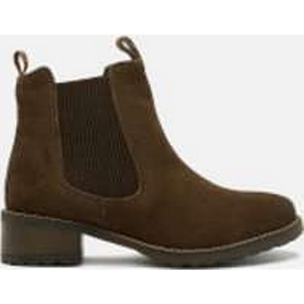 Barbour Women's Latimer - Waxy Suede Chelsea Boots - Latimer Brown 2bf6c7