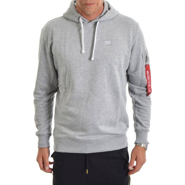 Alpha Industries X-Fit Hoodie - Grey Heather