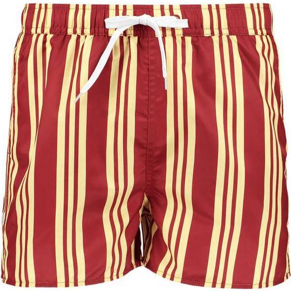 Resteröds Swimwear Solid Short - Yellow/Red