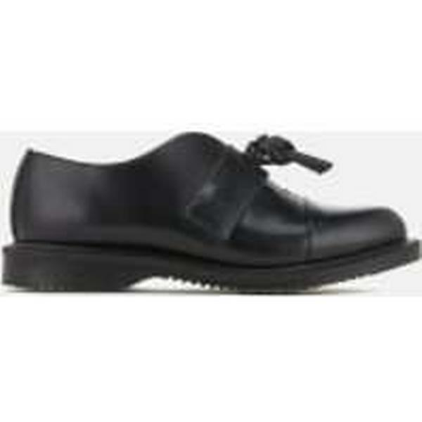 Dr. Martens Women's Kensington Flats Eliza Leather Knotted Top Flats Kensington - Black - UK 6 - Black c17dc7
