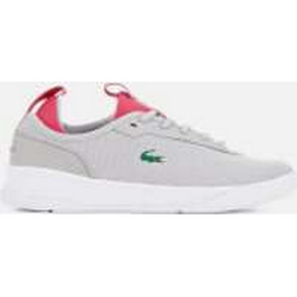 Lacoste Women's LT Spirit Trainers 2.0 317 1 Runner Trainers Spirit - Light Grey/Pink 3a482a