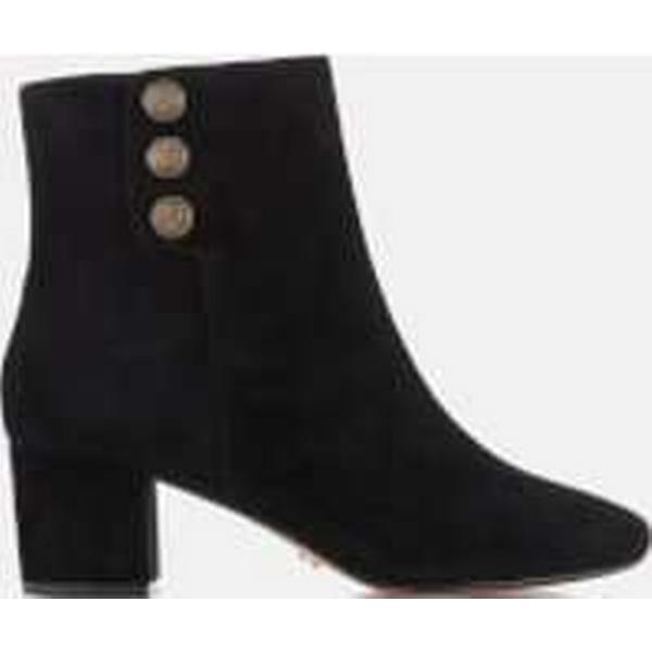 Dune Women's - Parlour Suede Heeled Boots - Women's Black 221664