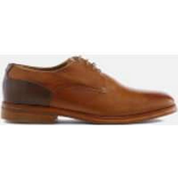 Hudson London Men's Enrico Leather Tan Derby Shoes - Tan Leather cc8b7c