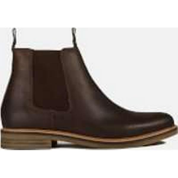Barbour Boots Men's Farsley Leather Chelsea Boots Barbour - Brown e88527