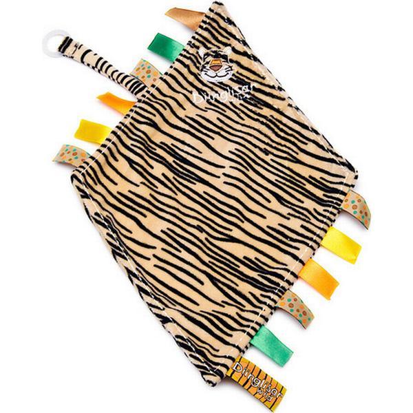 Teddykompaniet Diinglisar Wild Snuttefilt med Napphållare Tiger