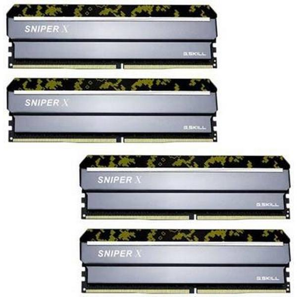 G.Skill Sniper X DDR4 2400MHz 4x8GB (F4-2400C17Q-32GSXK)