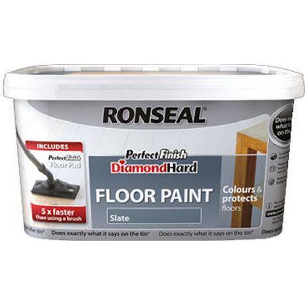 Ronseal Perfect Finish Diamond Hard Floor Paint White 2.5L