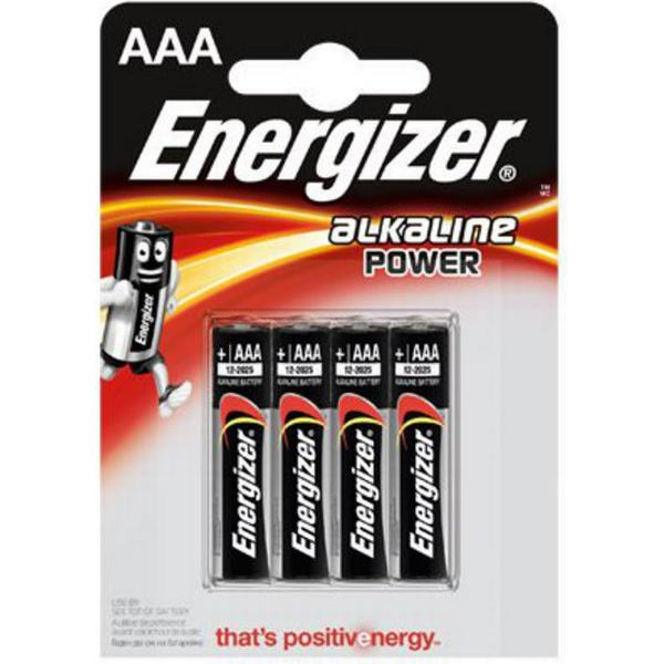 Energizer Alkaline Power AAA LR03 4-pack