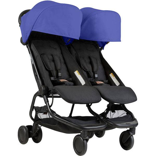 Mountain Buggy Nano Duo Søskendevogn