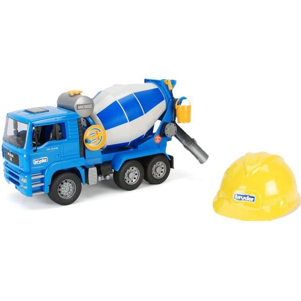 Bruder MAN TGA Cement Mixer with Helmet 1638