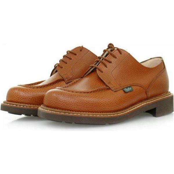 34676 Chambord Paraboot Chambord 34676 Tan Leather Shoes 157822 fce1e4