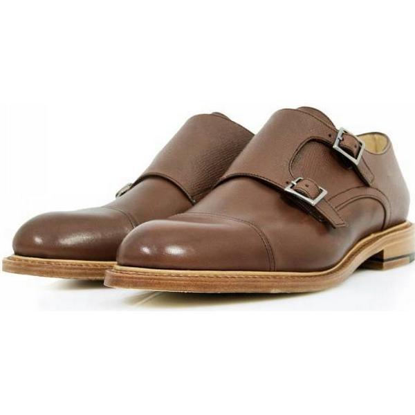 38537 Shoe Paraboot Vigny Merisier Monkstrap Shoe 38537 6914 7311b4