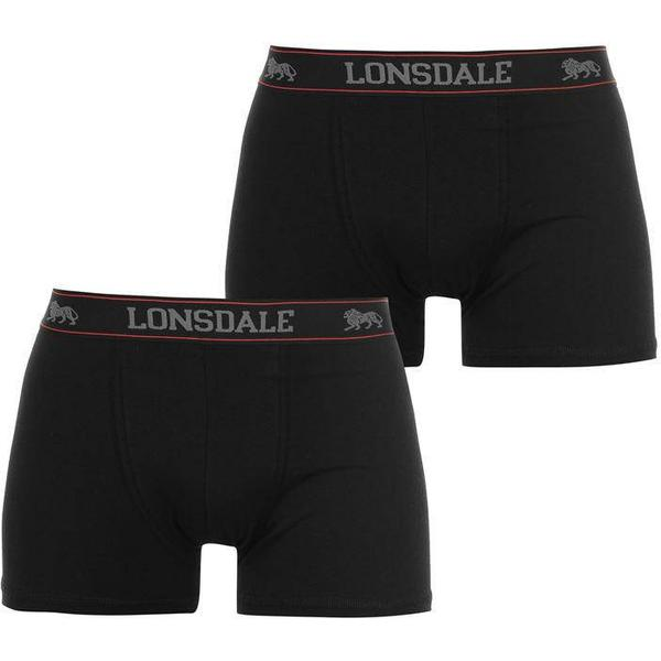 Lonsdale Trunk 2-pack - Black