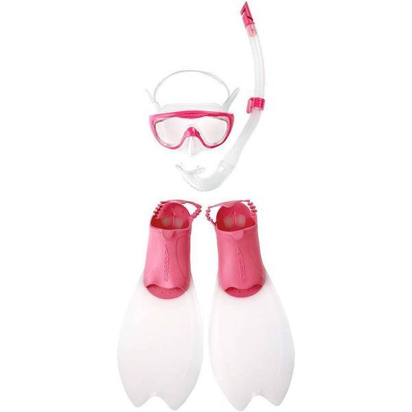 Speedo Glide Mask Snorkel & Fin Set Jr