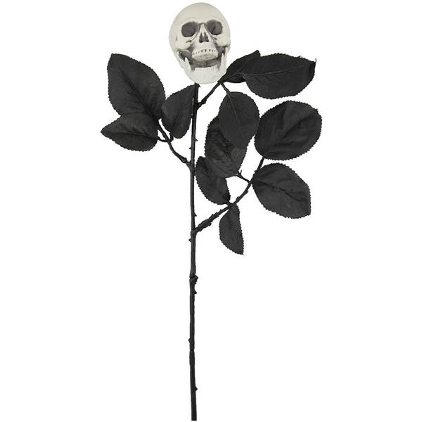 Rose with Skull