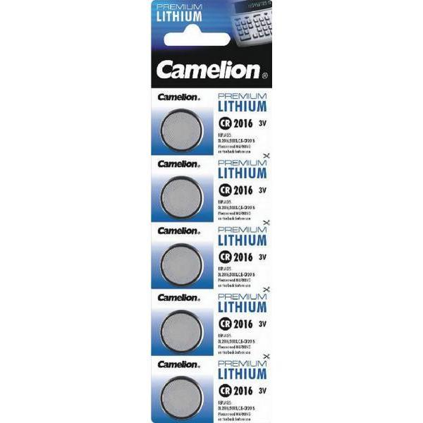 Camelion CR1616 Compatible 5-pack