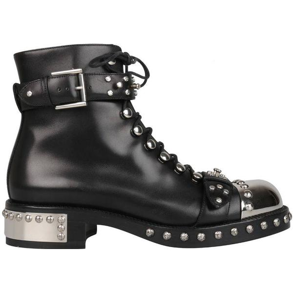 Man's/Woman's:Alexander McQueen design Hobnail Boots: Lush in design McQueen 1695bf
