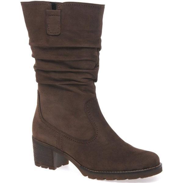 Gabor Nougat Dunmow Womens Boots Colour: Nougat Gabor Nubuck, Size: 4.5 a939d5