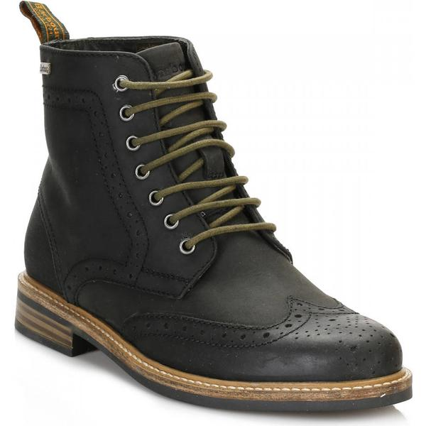 Barbour Boots Mens Black Belsay Brogue Boots Barbour ca0d11