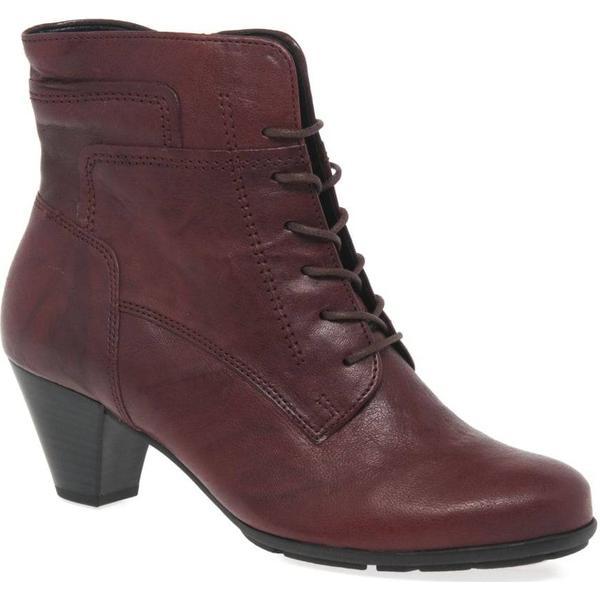 Gabor National Dark Womens Ankle Boots Colour: Dark National Red, Size: 3.5 da18cf