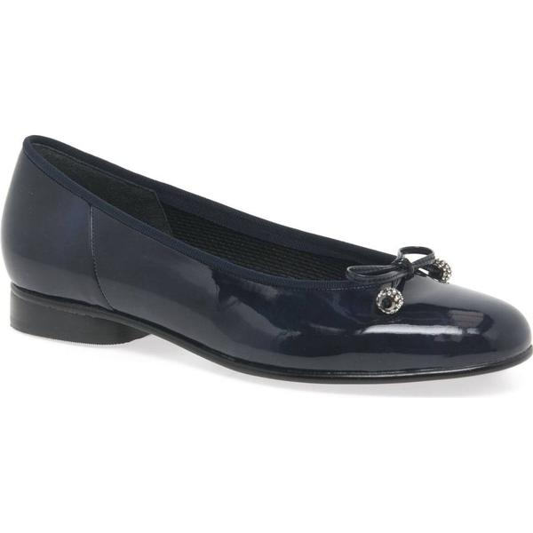Gabor Lisa Womens Casual Shoes 6 Colour: Navy Patent, Size: 6 Shoes a3252f
