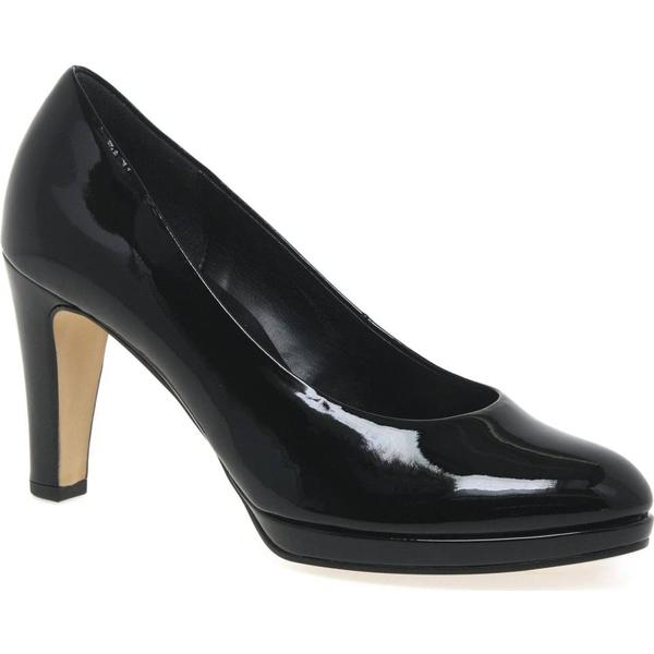 Gabor Splendid Womens High Heel Court Size: Shoes Colour: Black (HT), Size: Court e6bf6b