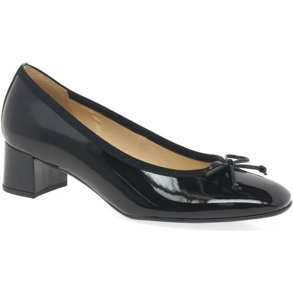 Gabor Belfast Womens Court Shoes Size: Colour: Black Patent Hi-Tec, Size: Shoes 3. 969000